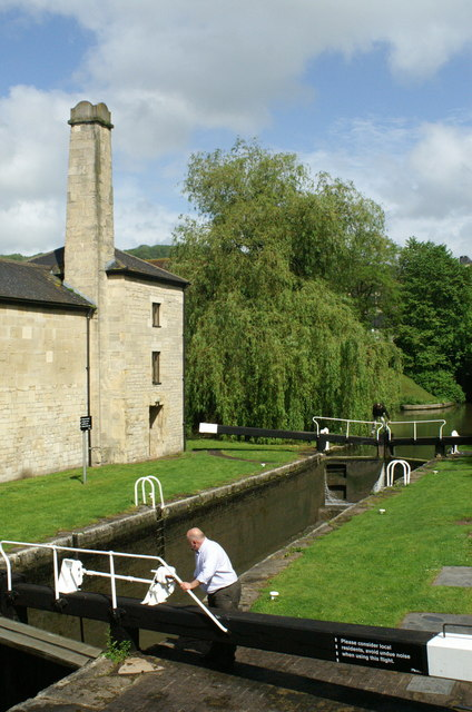 Bath Bottom Lock, Kennet & Avon Canal