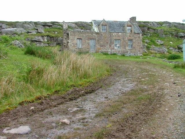 Derelict House at Fearnbeg