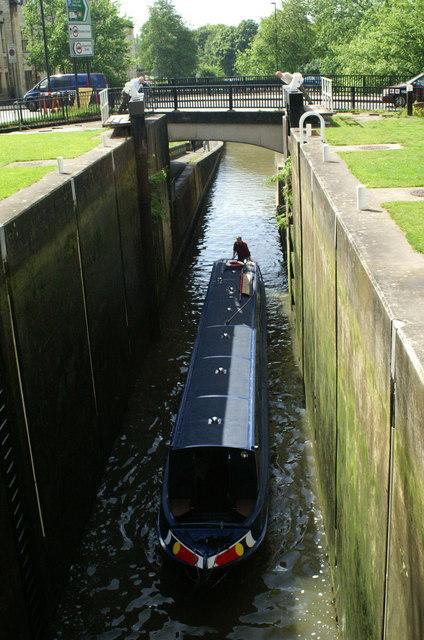 Bath Deep Lock, Kennet and Avon Canal