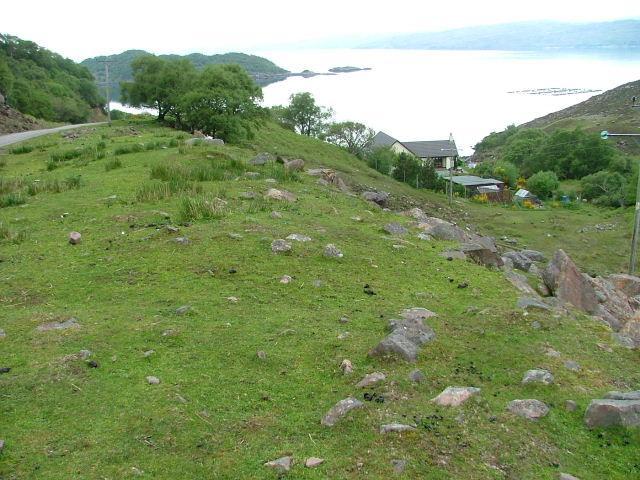 House Overlooking Loch a' Cracaich
