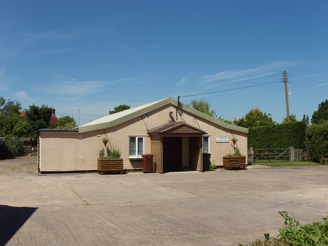 Piddington village hall