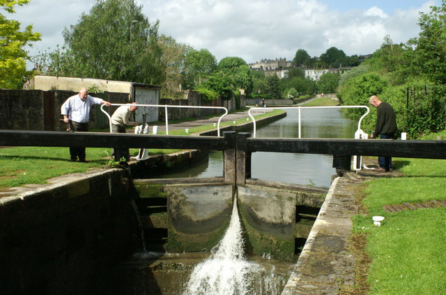 Wash House Lock, Kennet and Avon Canal