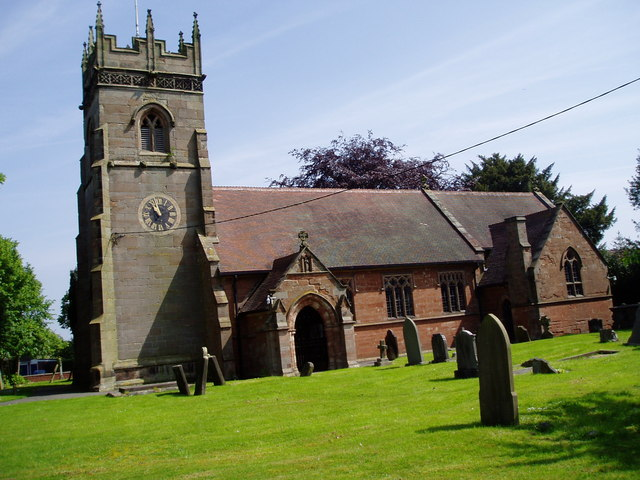 St Giles', Haughton