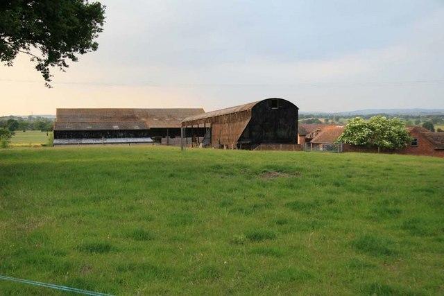 Crutch Farm near Elmbridge and Wychbold
