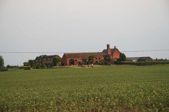 Park Farm near Hampton Lovett