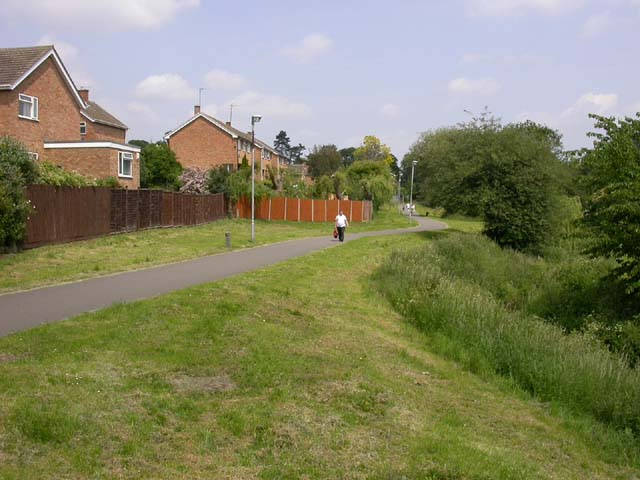 Section of Croyland Cycleway