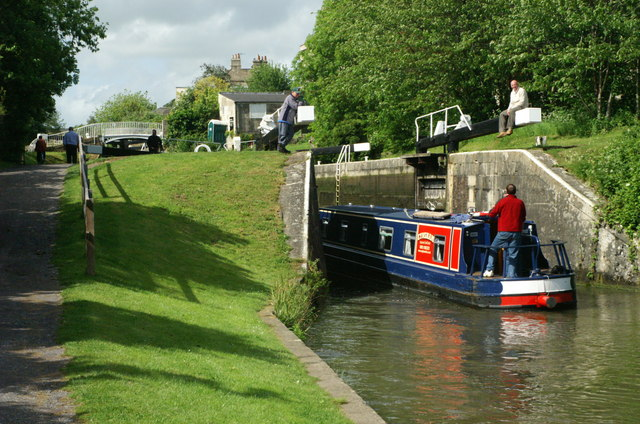 Abbey View Lock, Kennet and Avon Canal