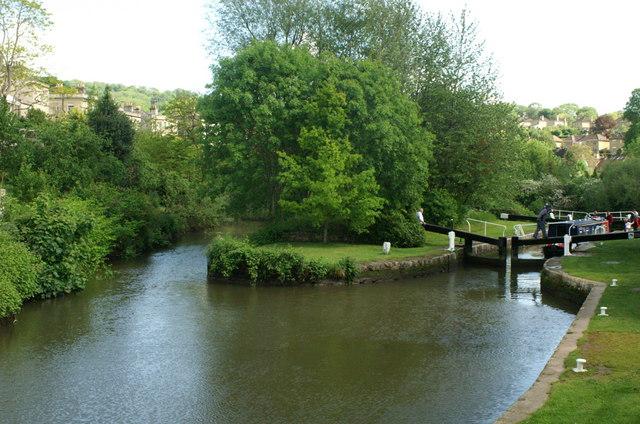 Kennet & Avon Canal, Pulteney Lock, Bath