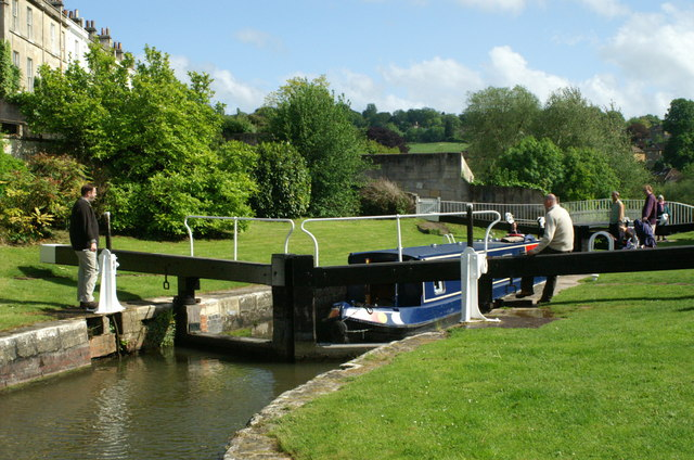 Bath Top Lock, Kennet & Avon Canal