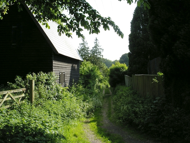 Footpath in Broughton