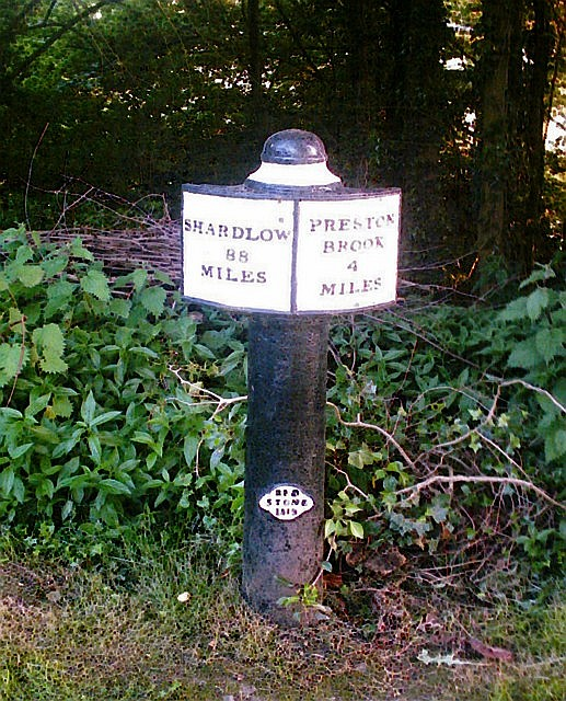 Trent & Mersey Canal Milepost