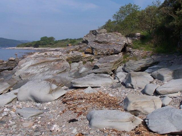 Bute,  Rocks