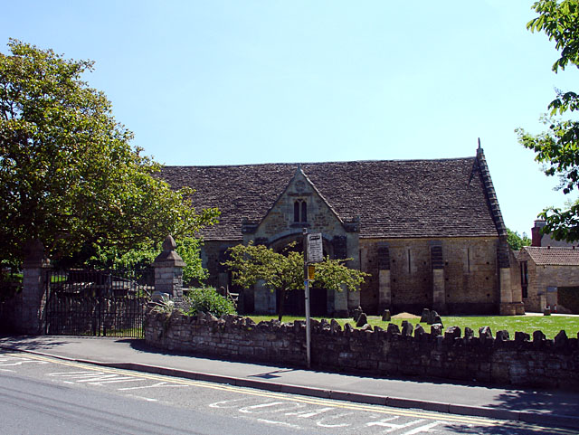 Glastonbury Abbey Barn