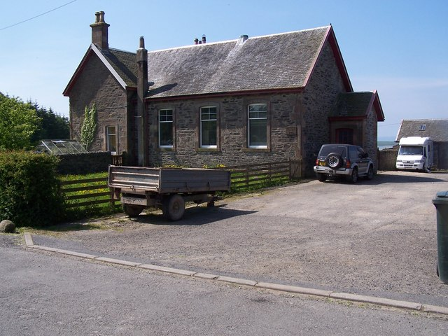 Bute,  Ballianlay Schoolhouse