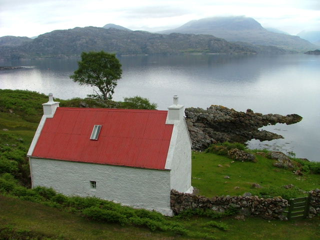Cottage Overlooking Loch Shieldaig