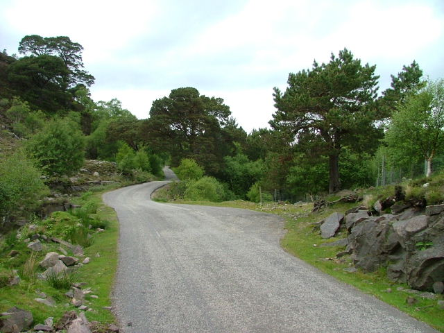 Road East of Inverbain