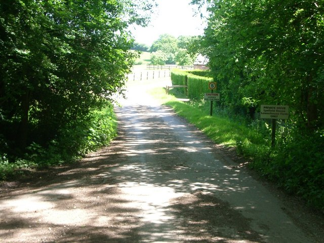 Track towards Lowerhouse Farm