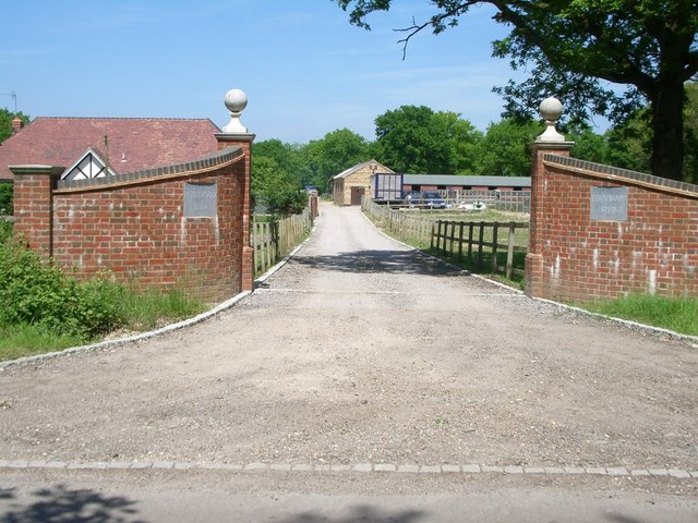 The entrance to Pitchwood Stud