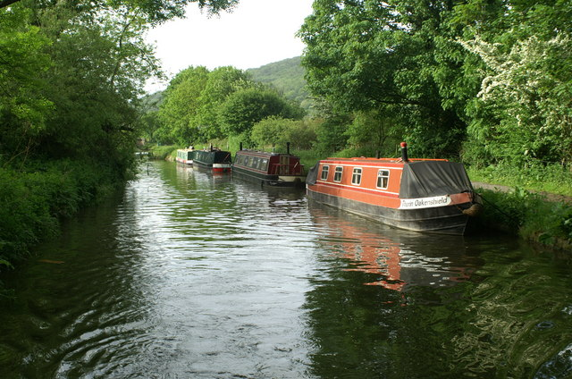 Kennet and Avon Canal above Claverton