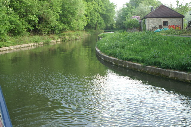Kennet and Avon Canal above Dundas Aqueduct