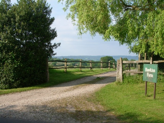 The entrance to Hawkin's Farm