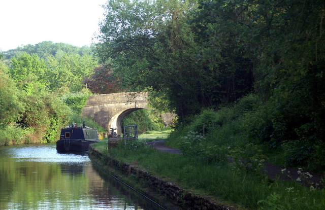 Kennet and Avon Canal,  Winsley Bridge