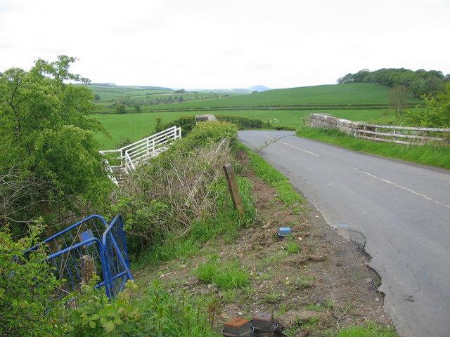 Bridge near Finlaggan