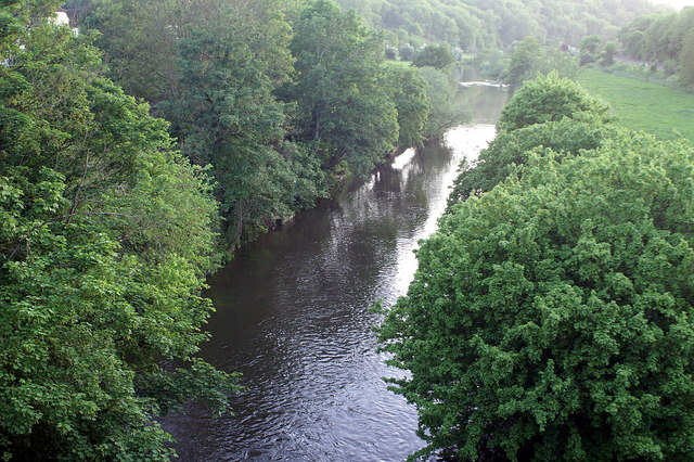 River Avon from Avoncliff Aqueduct