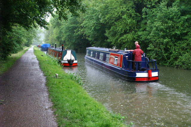Kennet and Avon Canal, north of Avoncliff Aqueduct