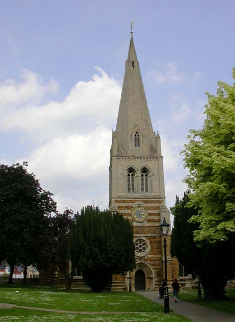 All Hallows Church Steeple