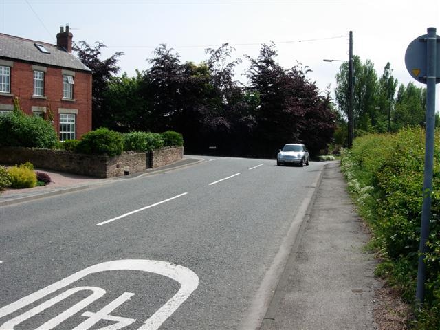 Junction of Picktree Lane and Bonemill Lane