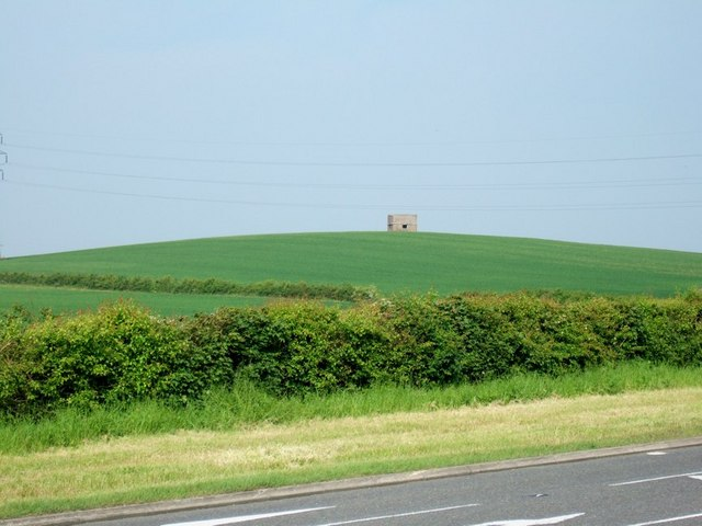 """The Look-out"" Pill Box near Stanbridge"