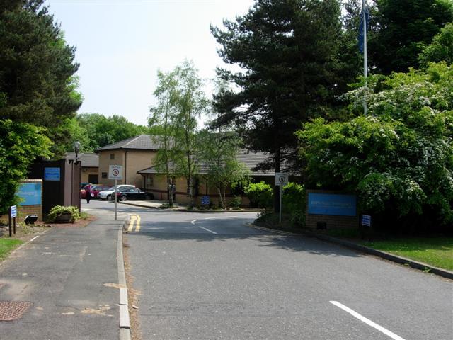 Entrance to Washington BUPA Hospital