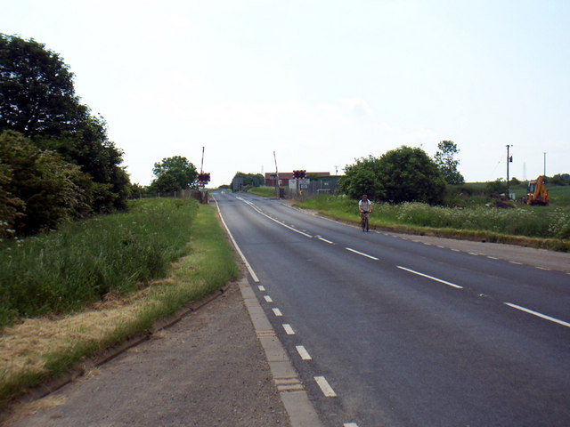 Scawby Level Crossing