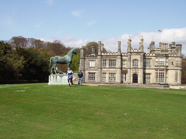 Statue, Dalmeny House.