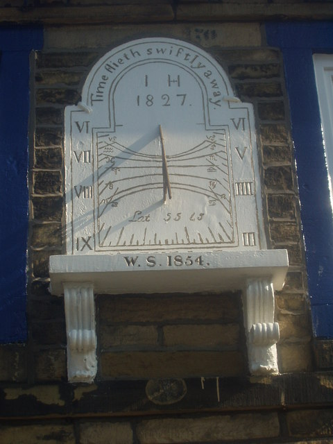 Sundial on solicitors' office, Great Horton Road