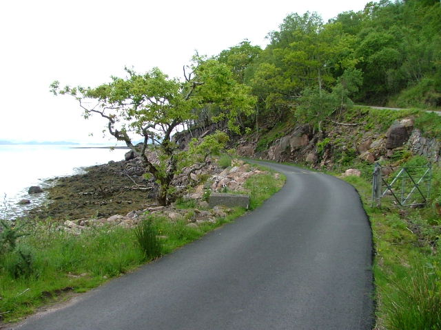 Driveway to Torridon House