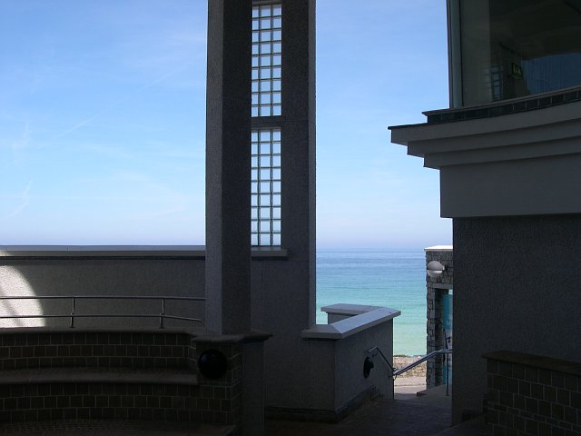 From the Atrium of the Tate St Ives