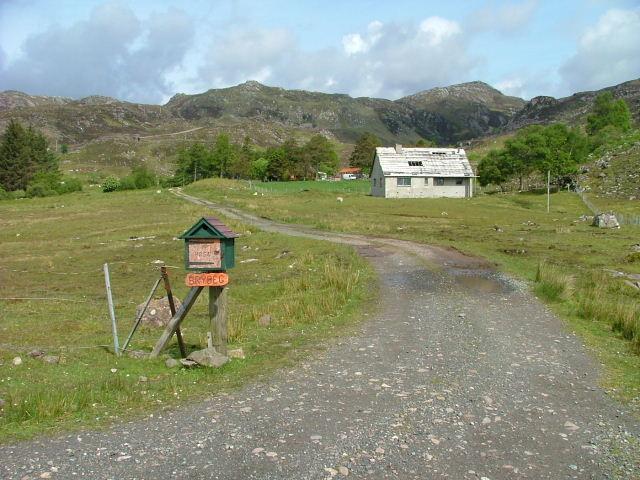 House Sign for Brybeg.