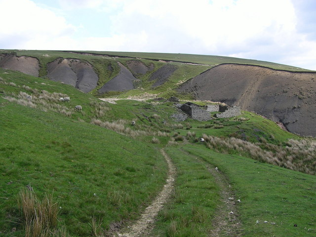 Mould Gill Coal Level  : Stonesdale  Moor