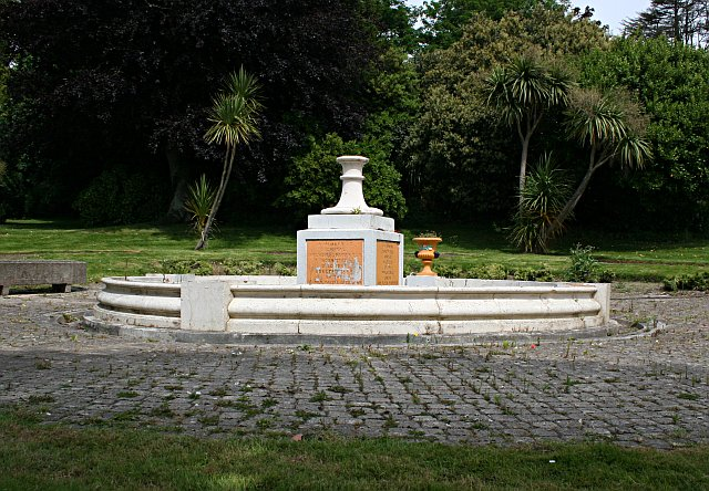 The Napier Fountain, Devonport Park