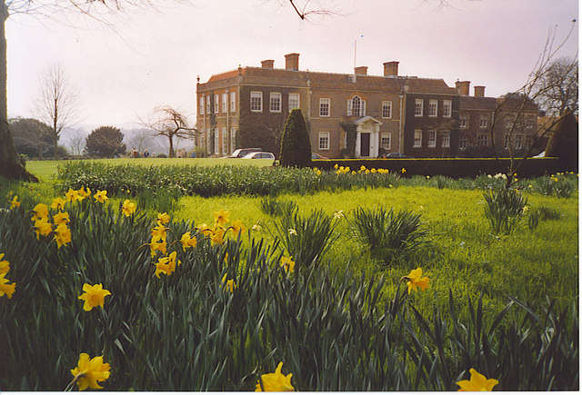Hinton Ampner House - East Front.