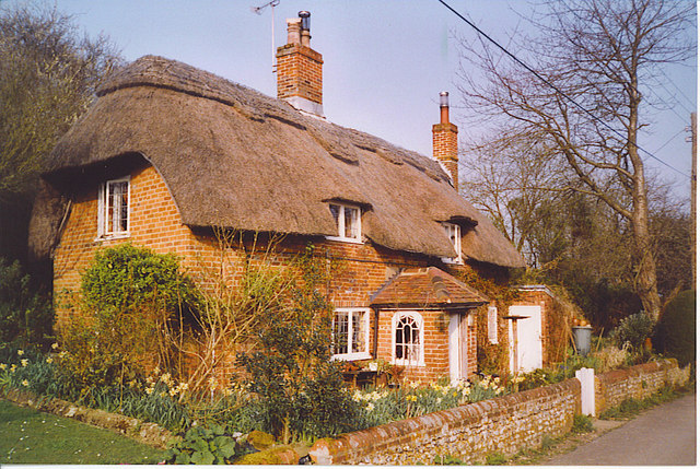 Thatched Cottage near Cheriton.