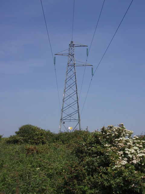 Pylon at Trevarnon