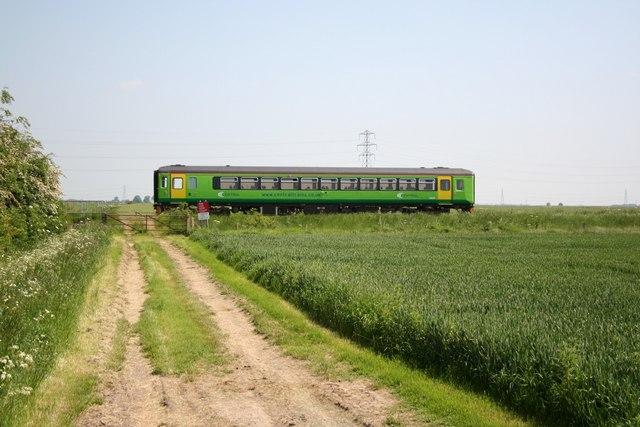 Lone train