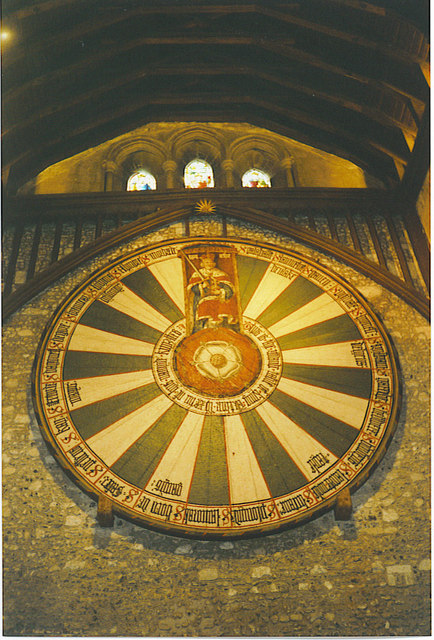 The Round Table, Winchester Great Hall.