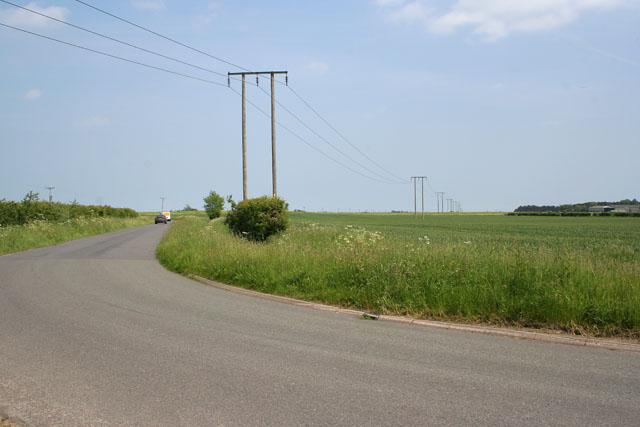 Brackenborough Road, near Louth