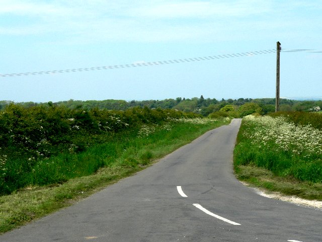 The Road to Bishop Burton from Crawberry Dale