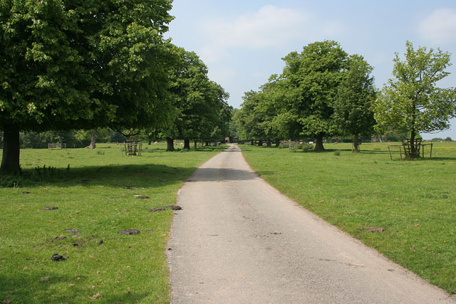 Driveway to Brackenborough Hall