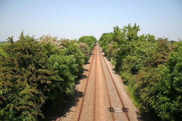 Helpringham railway view